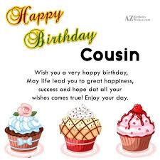 Happy Birthday Wishes For A Cousin Top 50 Cousin Birthday Wishes And Greetings Golfian Com