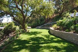 Steep Hill Backyard Ideas Steep Lot Retaining Walls Houzz