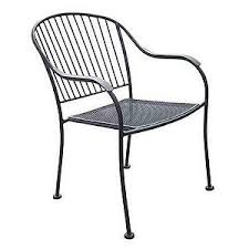 Wrought Iron Bistro Chairs Chelsea Outdoor Wrought Iron Chair Samsclub Com Auctions