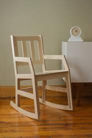 West Elm Ryder Rocking Chair Modern Rocking Chair Baltic Birch Plywood Rocker Door