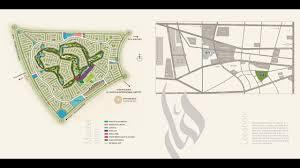 damac aknan villas master layout plan akoya oxygen dubai uae