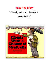 story cloudy chance meatballs