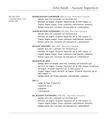 Resume Template On Word Good Resume Template 1 Free Microsoft Word Nardellidesign Com