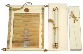indian wedding invitations scrolls indian wedding invitations scrolls sunshinebizsolutions