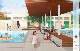 100 pool pavilion plans neoclassical style miami home with