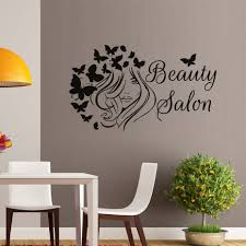 online shop hairstyle vinyl wall stickers beautiful with
