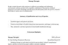 Massage Therapist Job Description Resume by Massachusetts Massage Therapist Resumes Samples Reentrycorps