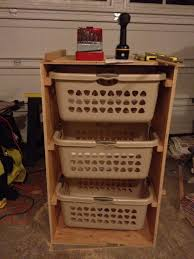 Laundry Room Basket Storage by Articles With Laundry Basket Storage Plans Tag Laundry Basket