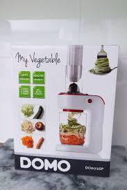 machine a cuisiner spaghettis de légumes avec my vegetable par domo ellemixe