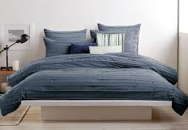 Duvet Cover Size Chart Dkny Loft Stripe Indigo Bedding Collection