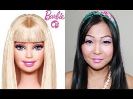 you think of asian barbie makeup transformation