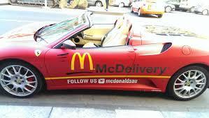 used lexus in melbourne ferrari f430 spider delivery vehicle australia melbourne mcdonalds