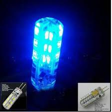 blue free light bulbs 10pcs lot led g4 12v blue light bulb g4 24v blue led 1 5w 2 5w 24v