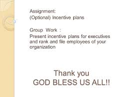 benefits and motivation reasons for granting benefits ppt