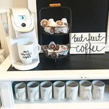 Home Coffee Bar Ideas Diy Coffee Cart Coffee Carts Coffee And Dorm