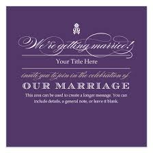 bold and violet wedding invitation invitations cards on