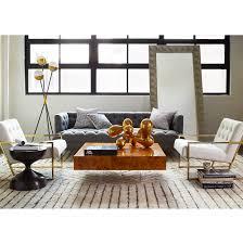 baxter t arm sofa modern furniture jonathan adler