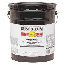 rust oleum primer 5 gal gray v7400 340 voc 23n396 v7086300