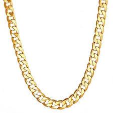 gold chain necklace men images 18k gold cuban link chain necklace men gold chains buy cuban jpg
