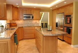 light cherry kitchen cabinets and granite home design ideas and diy project