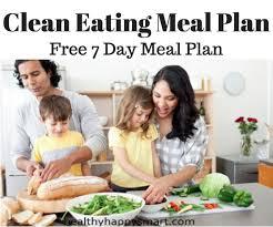 clean eating meal plan u2022 healthy 7 day meal plan
