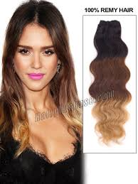 ombre hair extensions uk inch brown black ombre clip in indian remy human hair