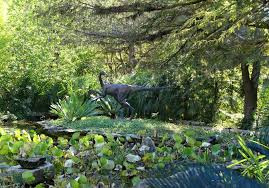 Zilker Botanical Garden File Dinosaur Sculpture Hartman Prehistoric Garden Zilker