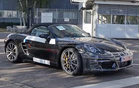 Porsche Boxster Generations - 2017 porsche boxster spied nearly camo free in stuttgart