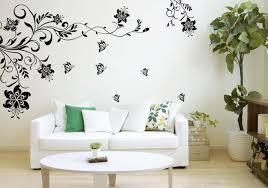 living room wall stickers stickers on the wall a simple way to make your interior more
