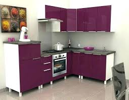 meuble cuisine violet meuble cuisine couleur aubergine cuisine couleur aubergine