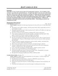 resume sales marketing director example of covering letter for