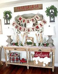 Christmas Decorations Ideas For Home Best 25 Christmas Entryway Ideas On Pinterest French Country