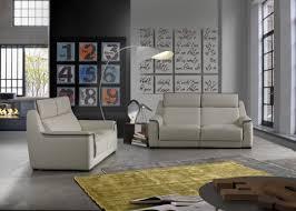 gorini canapé salon complet gorini toronto beige liseret brun clair canapé 3
