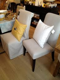 pottery barn dining chair slipcovers barn decorations