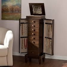Jewelry Armoire Vintage Furniture Awesome Recessed Jewelry Cabinet Vintage Jewelry