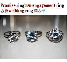 promise ring vs engagement ring 1 2 ct promise ring engagement ring solitaire ring made