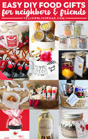 Food Gift Ideas 35 Gift Ideas For Neighbors And Friends Yellow Bliss Road