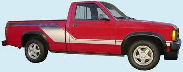 dodge dakota sport decals graphix 1989 dodge dakota shelby truck decal kit