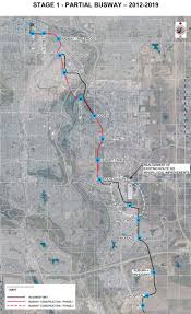 Green Line Map Green Line Transitway Plans Excite Calgary Transit Riders