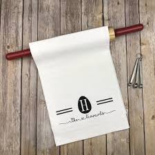 wedding gift kitchen easter egg monogram kitchen towel personalized dish towel monogram