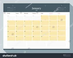 yearly planner template january 2016 monthly calendar planner 2016 stock vector 325655423 monthly calendar planner for 2016 year vector design print template week