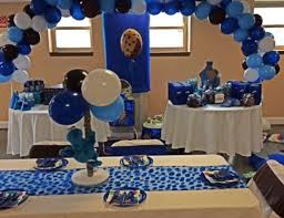 cookie monster table decorations cookie monster birthday zions 1st birthday catch my party