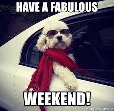 Fab Meme - have a fabulous weekend fab weekend meme generator