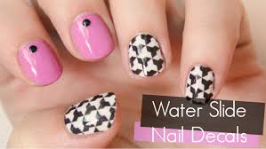 how to use water slide nail decals totallycoolnails youtube