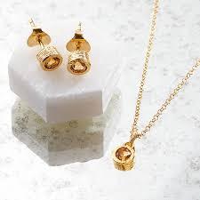november birthstone jewelry citrine november birthstone gold jewellery gift set by embers