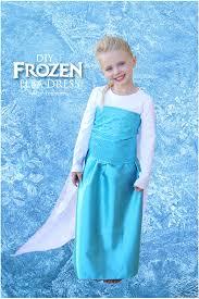 diy frozen elsa dress tutorial materials list sparkle