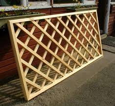Timber Trellis Charming Ideas Trellis Fence Panels Pleasing 1000 Images About
