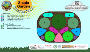 partial shade garden plans home design ideas and pictures