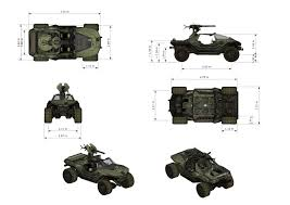 halo warthog 3d model drawing from the game warthog vehicle halo war drawing