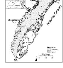 Black And White Map Delmarvafig Png